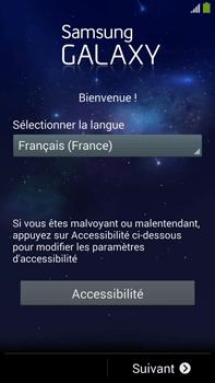 Samsung Galaxy Note 3 - Premiers pas - Créer un compte - Étape 2