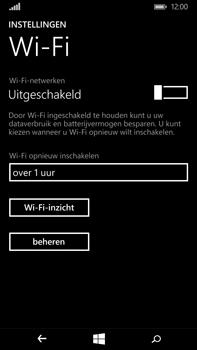 Microsoft Lumia 640 XL - WiFi - Verbinden met een netwerk - Stap 5