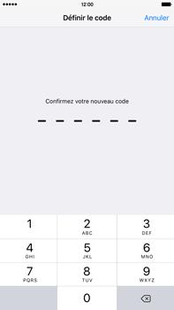 Apple iPhone 6s Plus - Sécuriser votre mobile - Activer le code de verrouillage - Étape 6
