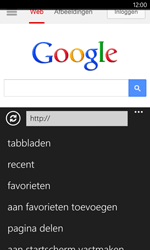 Nokia Lumia 1020 - Internet - Internet gebruiken - Stap 14