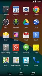 LG D821 Google Nexus 5 - Voicemail - Manual configuration - Step 3