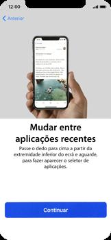 Apple iPhone X - Primeiros passos - Como ligar o telemóvel pela primeira vez -  26