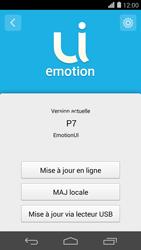 Huawei Ascend P7 - Réseau - Installation de mises à jour - Étape 7