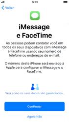 Apple iPhone 6 - iOS 12 - Primeiros passos - Como ativar seu aparelho - Etapa 22