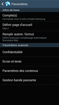 Samsung N9005 Galaxy Note III LTE - Internet - Configuration manuelle - Étape 26