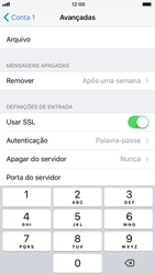 Apple iPhone 6 - iOS 11 - Email - Configurar a conta de Email -  24