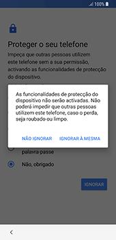Samsung Galaxy S8 - Android Oreo - Primeiros passos - Como ligar o telemóvel pela primeira vez -  14