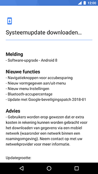 Nokia 6 (2018) - software - update installeren zonder pc - stap 6