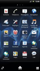 Sony LT22i Xperia P - Messagerie vocale - configuration manuelle - Étape 4