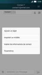 Huawei Y5 - Mms - Envoi d