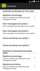 NOS SLIM - SMS - Como configurar o centro de mensagens -  8