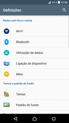 Sony Xperia XZ - Android Nougat - Internet no telemóvel - Configurar ligação à internet -  6