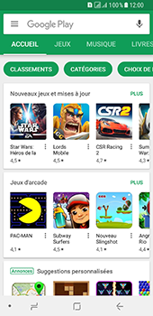 Samsung Galaxy A8 - Applications - Télécharger une application - Étape 4