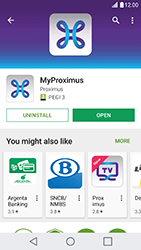 LG X Cam - Applications - MyProximus - Step 8