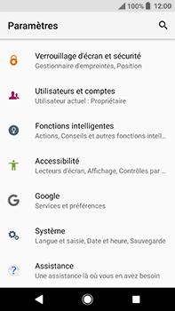 Sony Xperia XA2 Ultra - Appareil - Réinitialisation de la configuration d