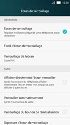 Huawei Y5 - Sécuriser votre mobile - Activer le code de verrouillage - Étape 10