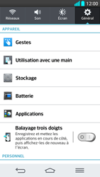 LG G2 - Applications - Supprimer une application - Étape 5