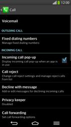 LG D955 G Flex - Voicemail - Manual configuration - Step 5