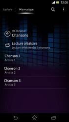 Sony Xpéria Z - Photos, vidéos, musique - Ecouter de la musique - Étape 6