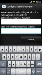 Sony ST26i Xperia J - E-mail - Configurer l