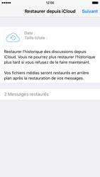 Apple iPhone 6 iOS 9 - WhatsApp - Restaurer les discussions WhatsApp - Étape 12