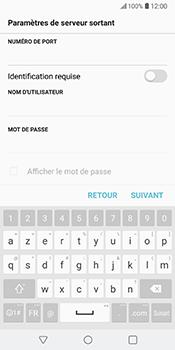 LG V30 - E-mail - Configuration manuelle - Étape 17