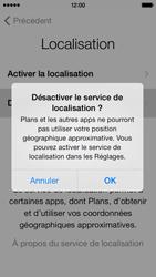 Apple iPhone 5c - Premiers pas - Créer un compte - Étape 8