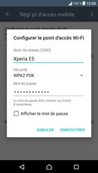 Sony Sony Xperia E5 - Internet et connexion - Partager votre connexion en Wi-Fi - Étape 8