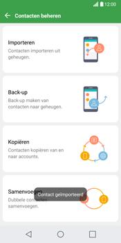 LG G6 (LG-H870) - Contacten en data - Contacten kopiëren van SIM naar toestel - Stap 13