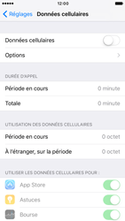 Apple iPhone 6s iOS 10 - Internet - activer ou désactiver - Étape 5