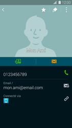 Samsung Galaxy S5 - Contact, Appels, SMS/MMS - Ajouter un contact - Étape 12