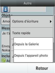 Nokia Asha 300 - E-mail - envoyer un e-mail - Étape 13