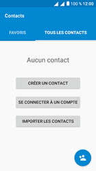 Alcatel U5 - Contact, Appels, SMS/MMS - Ajouter un contact - Étape 4