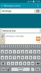 Samsung A500FU Galaxy A5 - Mensajería - Escribir y enviar un mensaje multimedia - Paso 13