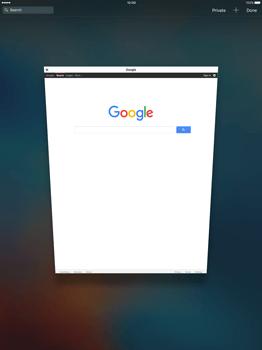 Apple iPad Pro 12.9 (1st gen) - iOS 9 - Internet - Internet browsing - Step 13