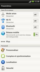 HTC One S - Internet et connexion - Accéder au réseau Wi-Fi - Étape 4