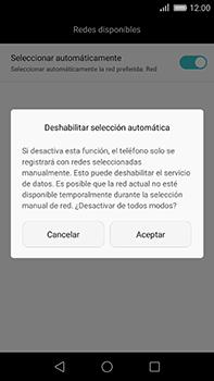 Huawei GX8 - Red - Seleccionar una red - Paso 7