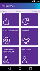 LG X Power - Applicaties - MyProximus - Stap 18