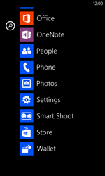 Nokia Lumia 520 - Network - Manually select a network - Step 3
