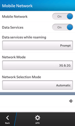 BlackBerry Z10 - Network - Usage across the border - Step 6