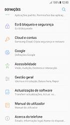 Samsung Galaxy A3 (2016) - Android Nougat - Repor definições - Repor definições de fábrica do telemóvel -  5