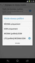 Sony Xpéria Z1 - Internet et connexion - Activer la 4G - Étape 7