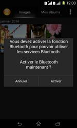 Sony Xpéria E1 Dual - Photos, vidéos, musique - Envoyer une photo via Bluetooth - Étape 9