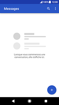 Sony Xperia XA2 Ultra - Contact, Appels, SMS/MMS - Envoyer un SMS - Étape 4