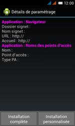 Alcatel OT-4033X Pop C3 - Paramètres - reçus par SMS - Étape 9