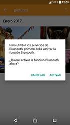 Sony Xperia XZ - Android Nougat - Bluetooth - Transferir archivos a través de Bluetooth - Paso 15