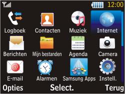 Samsung S3570 Chat 357 - Internet - handmatig instellen - Stap 12