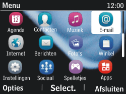 Nokia Asha 201 - E-mail - Handmatig instellen - Stap 3