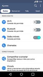 LG K10 - Chamadas - Como bloquear chamadas de um número específico - Etapa 5