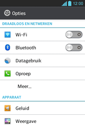 LG E610 Optimus L5 - Voicemail - handmatig instellen - Stap 5